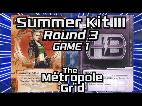 Netrunner Summer Kit III 2015: Round 3 - Game 1