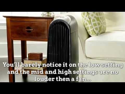 Honeywell HFD 120 Q Tower Quiet Air Purifier