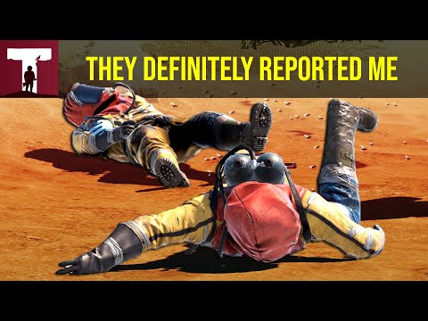 THEY DEFINITELY REPORTED ME AFTER THIS! (Rust) thumbnail