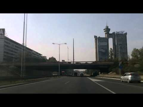 Serbia: Belgrade City E75 northbound