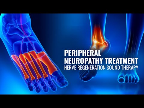 Peripheral Neuropathy Treatment ☮ Nerve Regeneration Sound Therapy ☮ Delta Binaural Beats #GV78