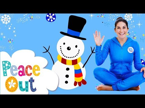 Snowman (Peace Out: Guided Relaxation) | Cosmic Kids
