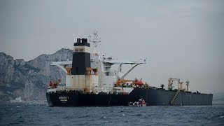 Iran seized British cargo ship Supertanker Grace 1