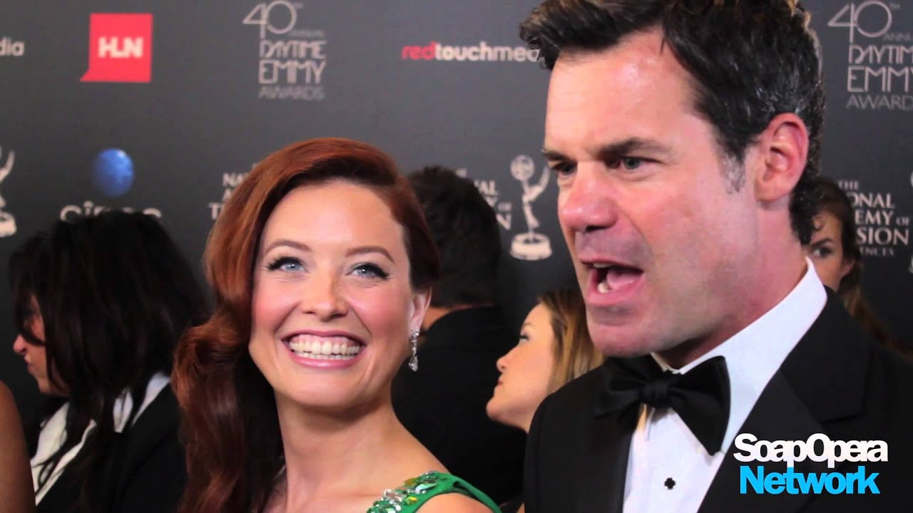 ON THE RED CARPET: Melissa Archer & Tuc Watkins (One Life To Live)