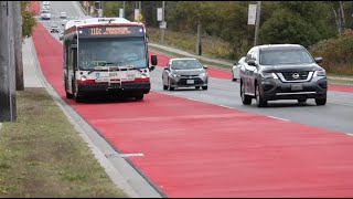 New Scarborough bus-only lanes hope to make transit more reliable