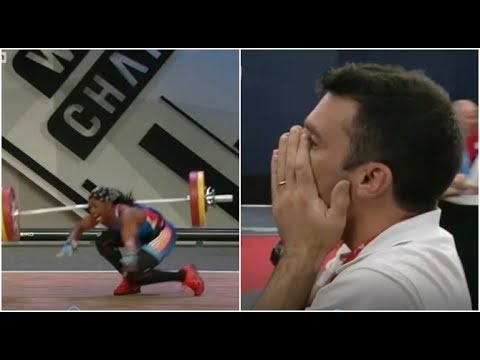 Weightlifter Breaks Arm