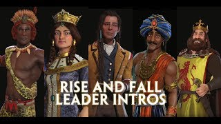 Video Civilization 6: Rise and Fall - All New Leader Introductions download MP3, 3GP, MP4, WEBM, AVI, FLV Maret 2018