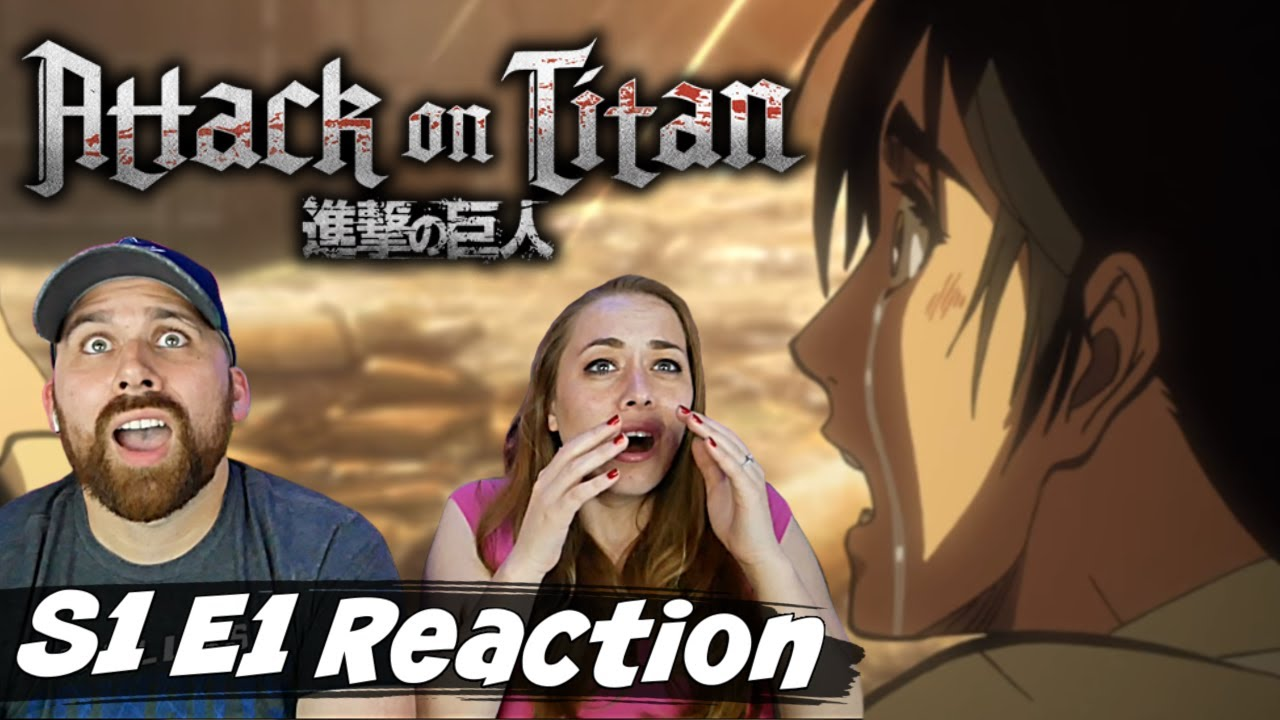 """Attack on Titan S1 E1 """"To You, in 2000 Years - The Fall of Shiganshina: Part 1"""" Reaction & Review"""