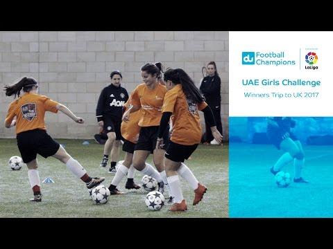 UAE Girls Challenge Winners UK Trip 2017
