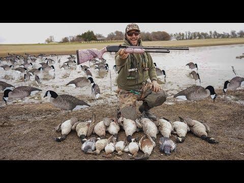 INSANE 20 Gauge Goose Hunt Challenge!!