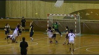 20191222福岡県高校新人ハンドボール女子3位決定戦 筑紫女学園vs福岡女子商(前半)