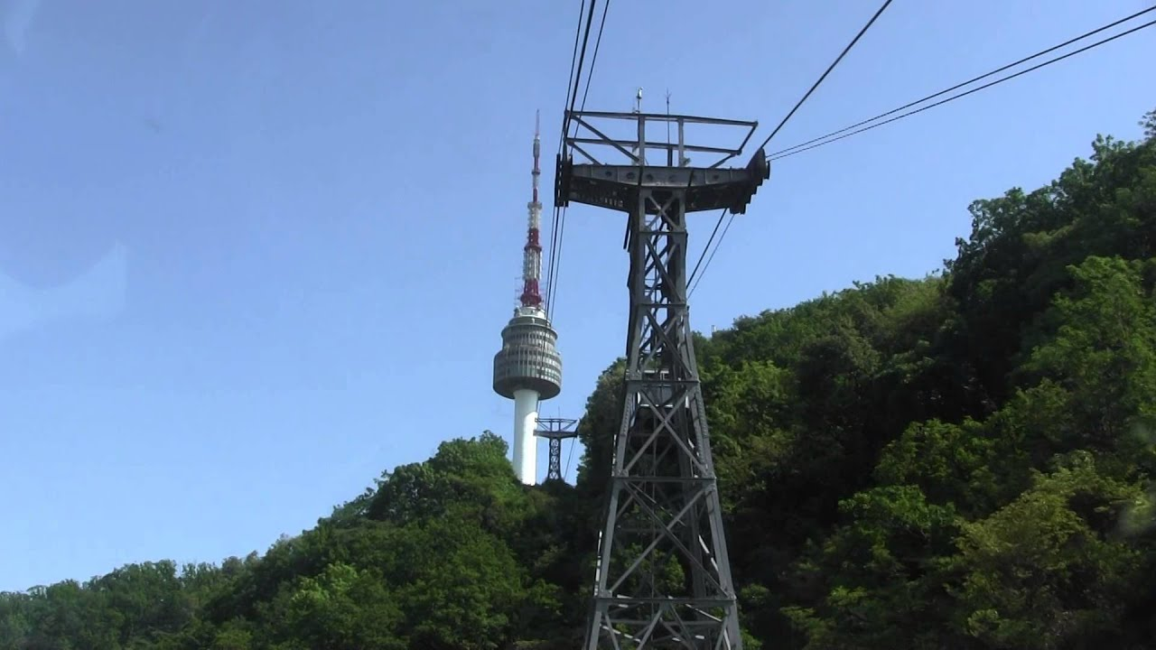 Namsan cable car - Namsan Cable Car Ride To N Seoul Tower N