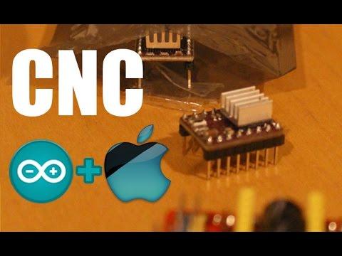 Arduino + CNC + Mac - DIY CNC Controller Made Easy