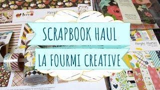 Compras haul de Scrapbook | La fourmi creative | Rebajas de enero