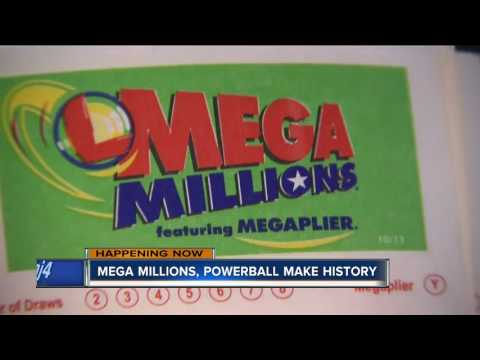 Powerball and Mega Millions at record levels over $300 million