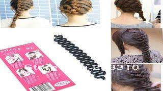 видео Заколки для плетения французской косы