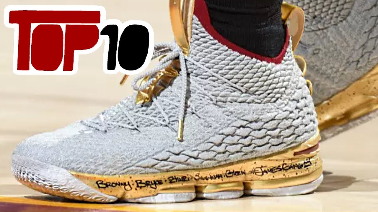 2764db92c68d5 Top 10 Basketball Shoes In The 2018 NBA Finals - YouTube