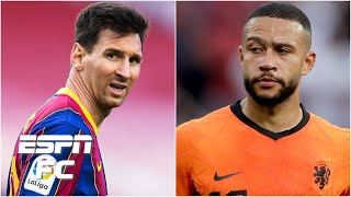 Why the Lionel Messi and Memphis Depay connection is complicated for Barca