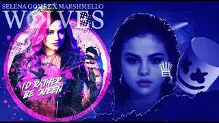 """Sarah Jeffery, Selena Gomez - Queen of Wolves (From """"Descendants 3"""")ft. Marshmello"""