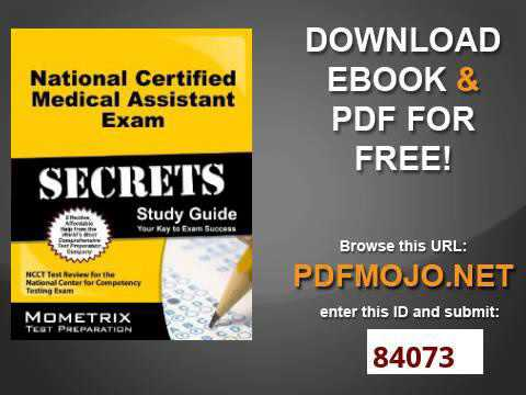 national certified medical assistant exam secrets study guide ncct test review for the national cent