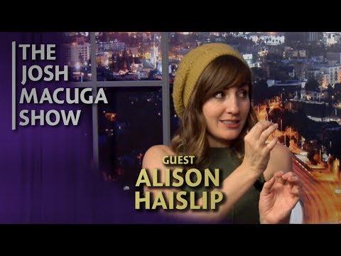 Alison Haislip  The Josh Macuga   I Like Intense Eyes