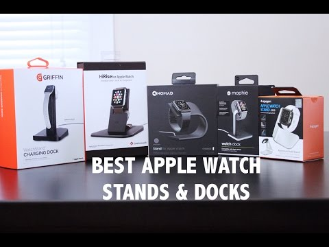 Best Charging Docks For Apple Watch 3, 2, And 1!