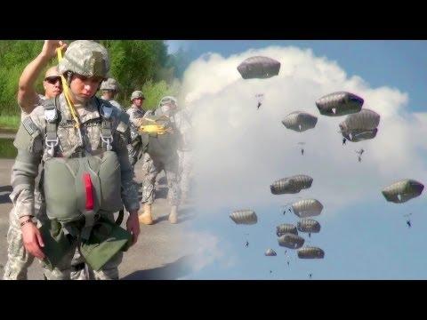 U.S. Army Paratroopers Earning Their Jump Wings!