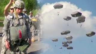 U.S. Army Paratroopers Earning Their Jump Wings!