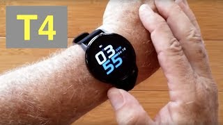 RUNDOING T4 Ultra-Thin Multi-Sport Blood Pressure IP68 Smartwatch: Unboxing and 1st Look