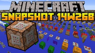 Minecraft 1.8 - Snapshot 14w26a - Debug Mode, Replace Item Command & More!