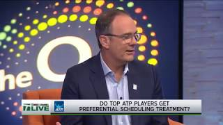 Tennis Channel Live: John Isner, Jim Courier, Paul Annacone Weigh In Federer Schedule Controversy
