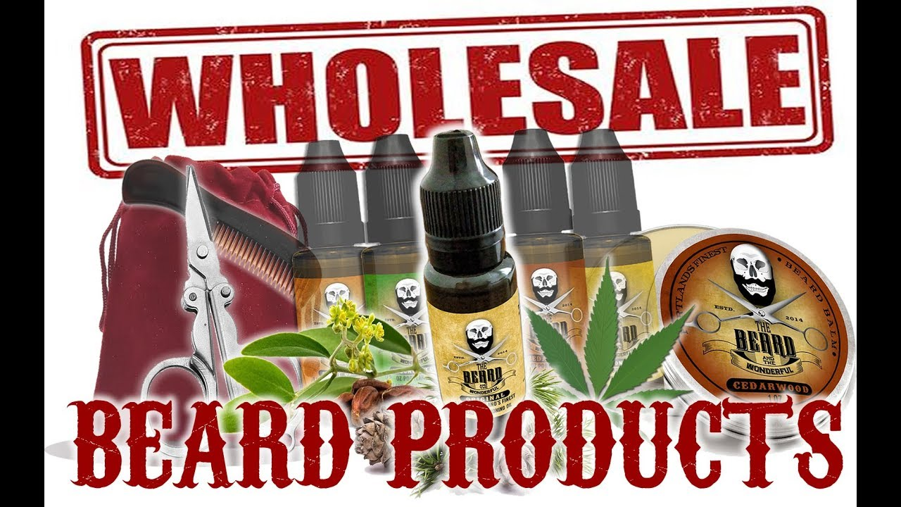 Wholesale Beard Oil, Mustache Wax, Balm Private Label & White Label