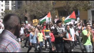 San Francisco Marches For Gaza 7-26-14