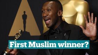Is Mahershala Ali the first Muslim to win an Oscar?