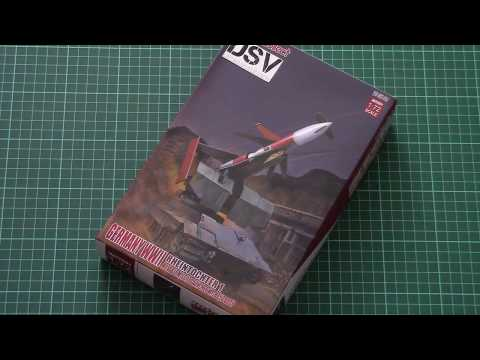 Modelcollect 1/72 E50 with Rheintochter...