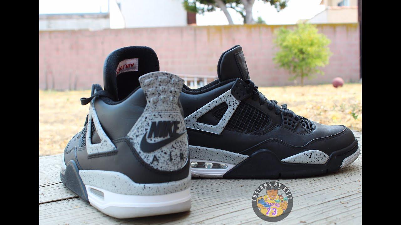 955d36313057cf Custom Jordan 4