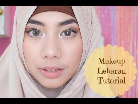 Makeup Lebaran Tutorial Kolaborasi dengan Mega Gumelar & Pengumuman GIVEAWAY! :) - Abel Cantika