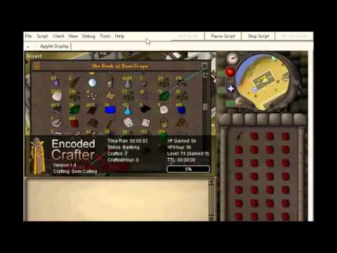 Old school runescape 2007 crafting bot 1 99 makes for Runescape exp table 1 99