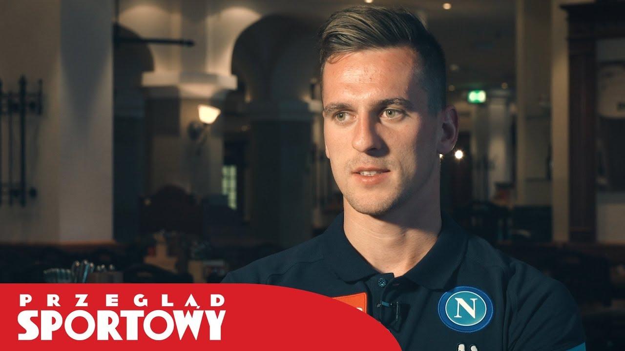 Arkadiusz Milik przed startem nowego sezonu Serie A