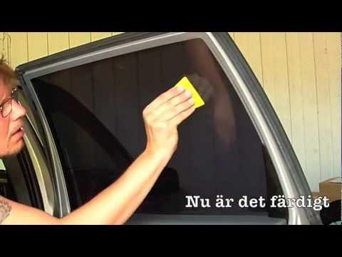 solfilm fönster biltema