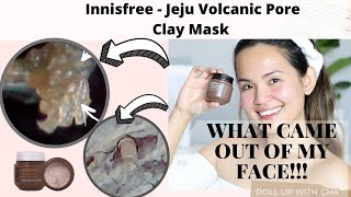 Innisfree Jeju Volcanic Pore Clay Mask Review   WATCH BEFORE YOU BUY