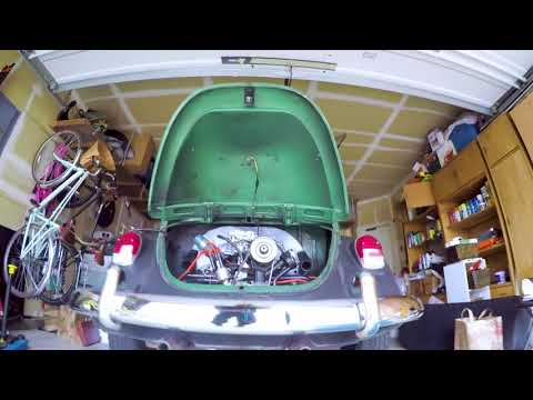 VW Bug How To Engine Removal - step by step