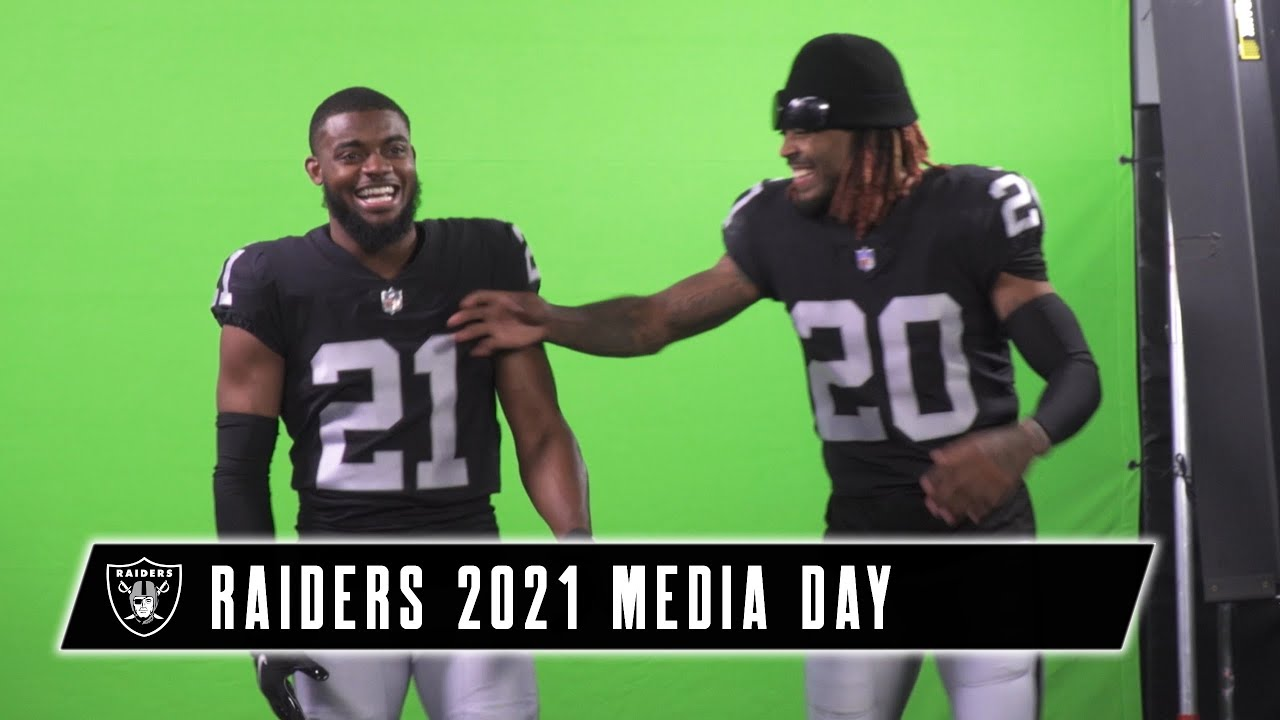 Nothing but Good Vibes   Behind the Scenes of Raiders 2021 Media Day