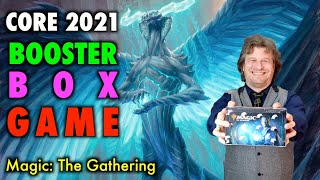 Let's Play The Core Set 2021 Booster Box Game! Magic: The Gathering