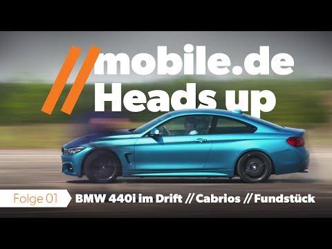 mobile.de Heads up Folge 1 Driften Cabrios Fundstck