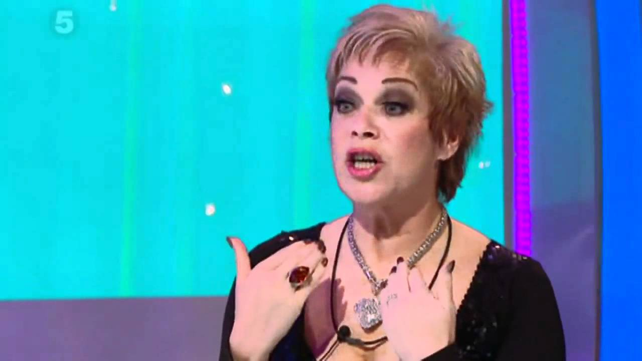 Denise Welch strips off with Frankie Cocozza in the ...