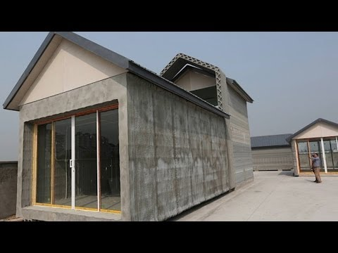 GIANT 3D Printers Make Ten Houses in Only a Day!