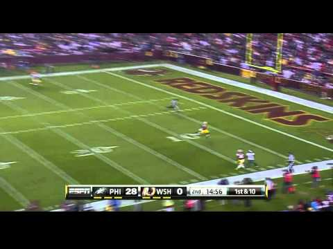 2010 Monday Night Massacre: Eagles vs Redskins highlights