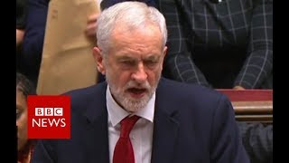 Labour tables motion of no confidence in the government - BBC News