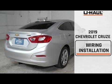 2019 Chevrolet Cruze Wiring Harness Installation